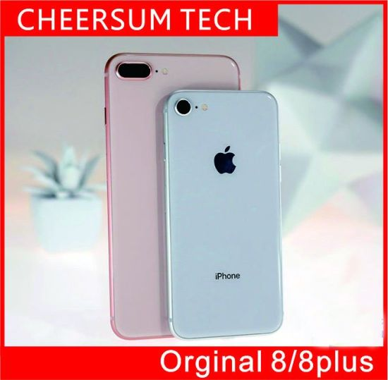 Refurished Phone 8 100% Original Phone 8/ 8 Plus Ios11 Quad Core 6GB RAM 64GB 128GB 256GB ROM 12.0MP 4G Mobile Phone Without Touch ID