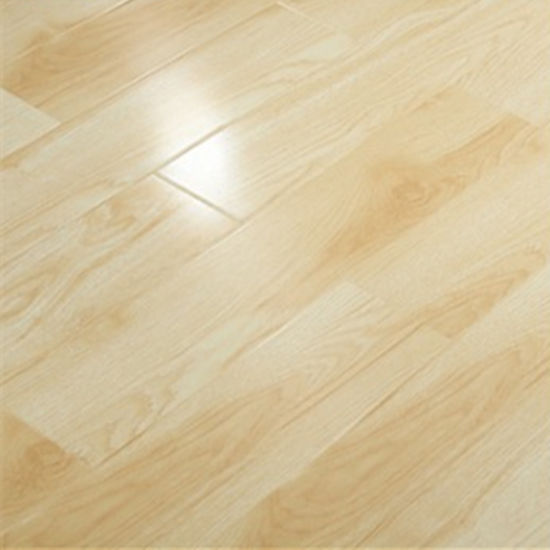 China Click Fire Resistant Flooring 12mm High Gloss Laminate