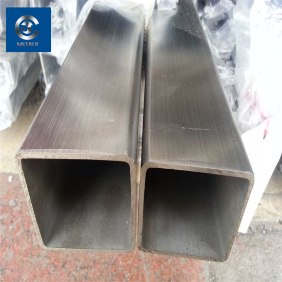 Forging Cold Drawn Polishing Bright Mild Alloy Steel Square Tube 403 Stainless Steel Square Pipe pictures & photos