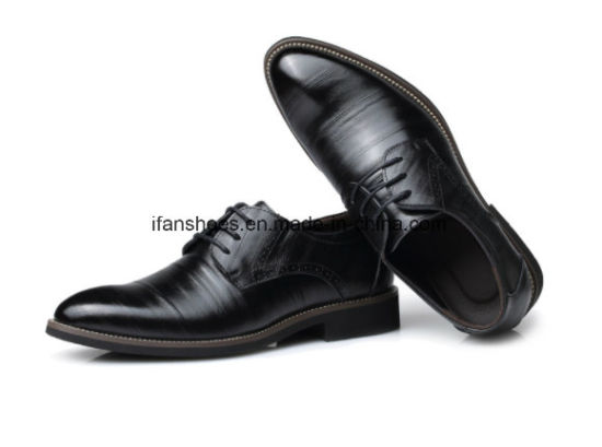 Hot Item Low Moq Leather Shoes For Office And Business Men Good Quality