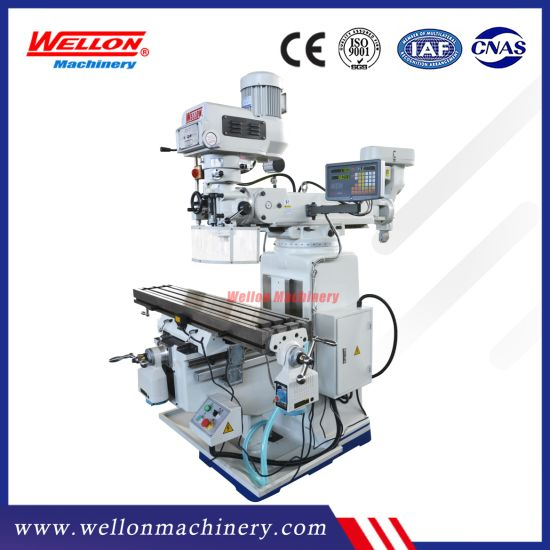 Turret Milling Machine (Universal Vertical Milling machine X6325 X6330 X6333)
