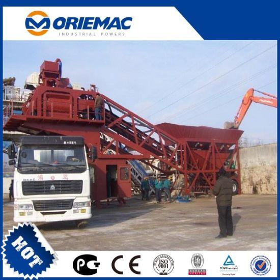 High Quality HZS35 Stationary Concrete Batching Plant