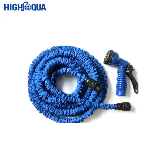 Expandable Garden Hose with Spray Nozzle