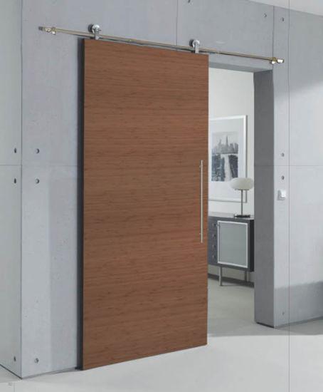 China Hotsale Simple Style Wood Sliding Doors Interior China