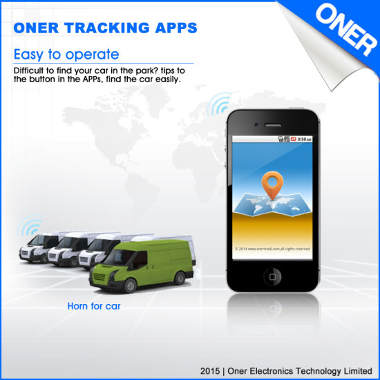 Real Time GPS Tracking Device with Free Tracking APP pictures & photos