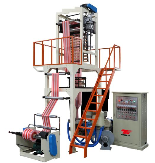 Automatic Double-Color Film Blowing Machine with Auto Winder
