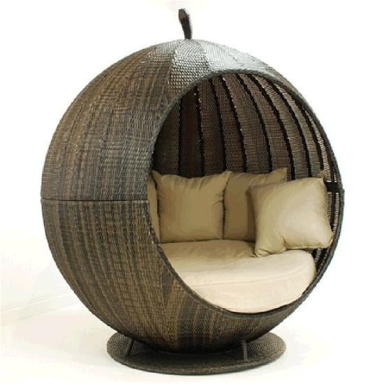 Outdoor Garden Unique Rattan Daybed Furniture Ml-D14