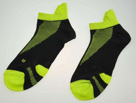 Custom Design Jacquard Breathable  Fashion 100% Cotton Sport Ankle Socks