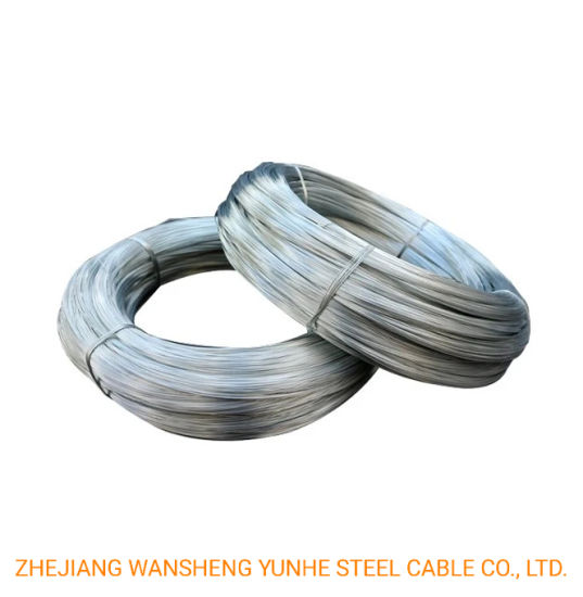 3mm Low Price Galvanized Iron Wire for Making Bucket Handle