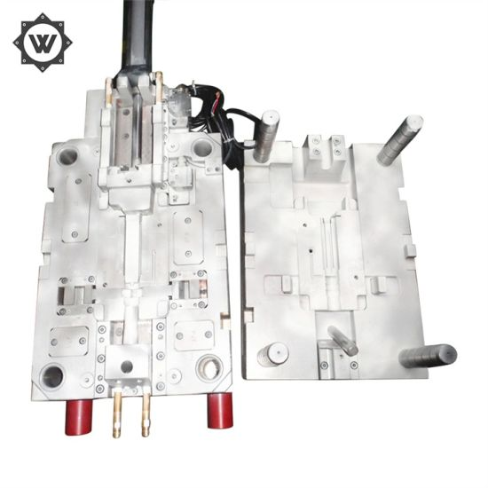 China Customized PC Electrical Injection Plastic Over Mold - China