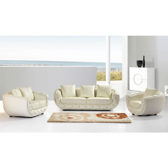 Modern 1+2+3 Style High End Leather Sofa Set F240