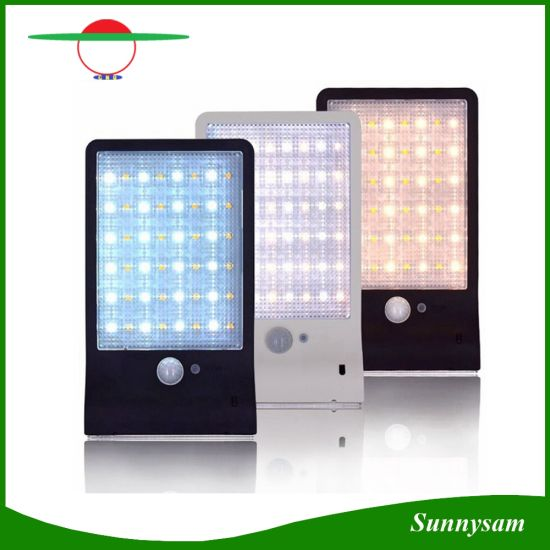 China white warm white 48 led remote control outdoor lighting pir white warm white 48 led remote control outdoor lighting pir motion sensor waterproof garden solar light aloadofball Image collections