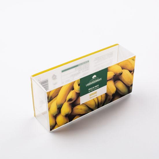 Wholesale Clear Custom Logo Plastic Acetate Box Packaging for Food