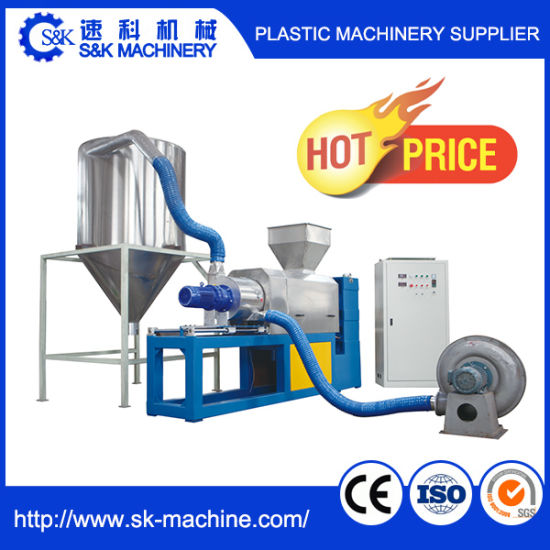 Plastic Squeezing Granulator Recycling Machine pictures & photos