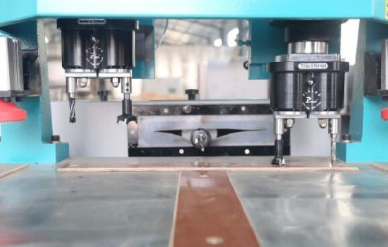 Horizontal Double Heads End Mortising Machine for Door Frame/ Chain Mortiser/ Mortise Machine / Slot Mortiser & China Horizontal Double Heads End Mortising Machine for Door Frame ...