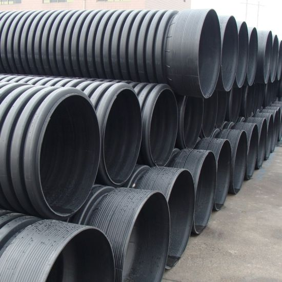 China Steel Strengthen Spiral Corruagted HDPE Pipe - China PE Pipe