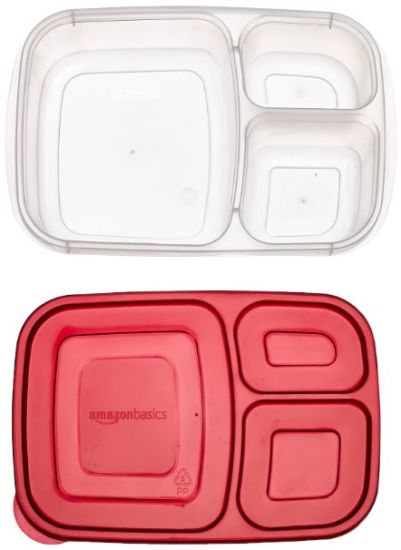 3 Compartment Grade Food Storage Container pictures & photos