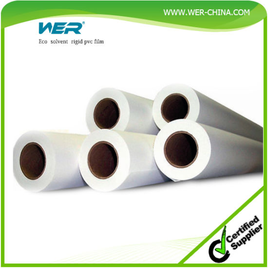 Main Support Eco Solvent Rigid PVC Film pictures & photos