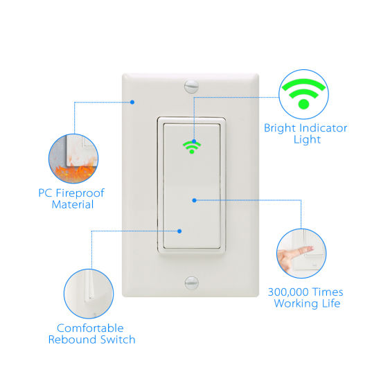China Smart Button Switch One-Touch Remote Control for