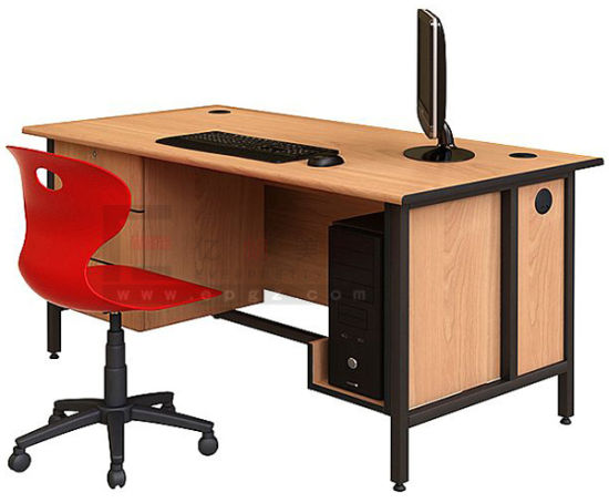 High Quality Wooden Computer Desk Furniture for School