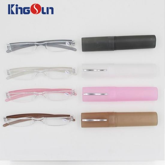 One Part Frame Pen Reading Glasses