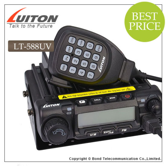 Dual Band UHF VHF Mobile Radio Lt-588UV VHF/UHF Radio pictures & photos