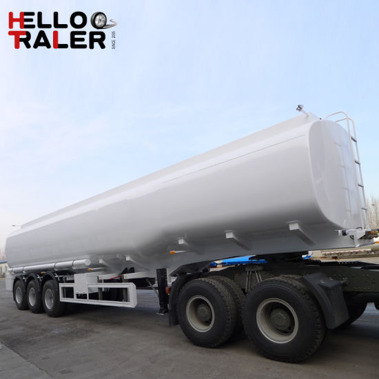 40m3 3 Axle Carbon Steel Fuel Tanker Trailer From Trailer Manufacturer pictures & photos