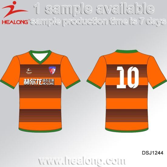 0a80250f1 Healong Customized Team Wear Sublimation Printing Football Jersey pictures    photos