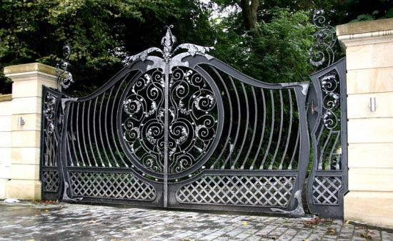 Modern Iron Gate Grill Designs Steel Security Doors