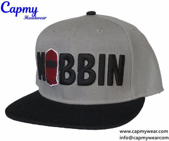 68c36427c46 China 100% Acrylic Material Good Shape Snapback Cap - China Snapback ...