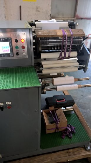 Horizontal Sticker Paper Slitting Machine pictures & photos