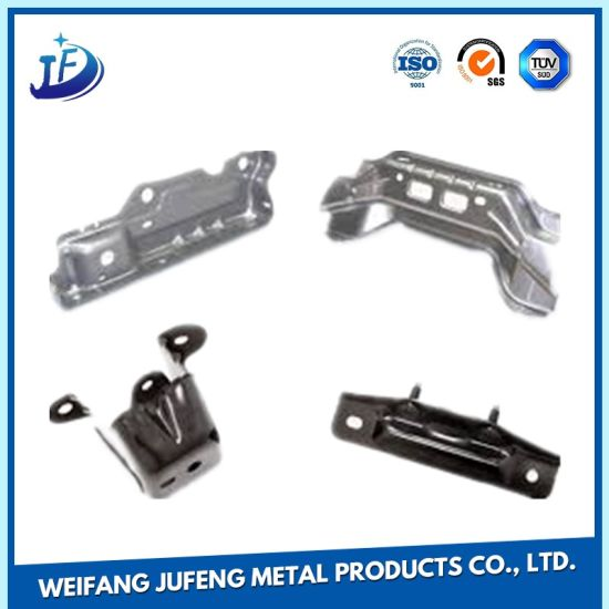 OEM Sheet Metal Stamping Part Fabrication for Copper Connector/Stainess Steel Door Hinge pictures & photos