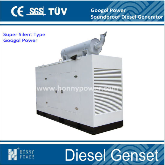 50kw Googol Power Silent Electric Diesel Generator for Sale pictures & photos