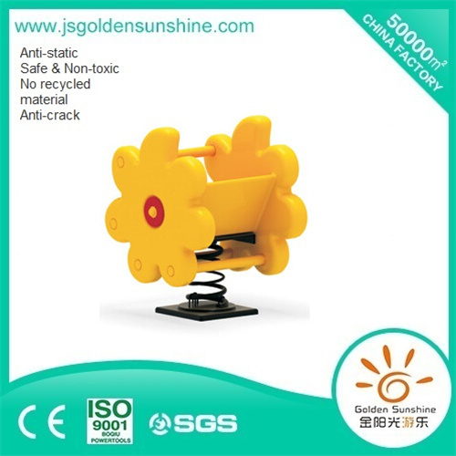 Children's Plastic Spring Rider of Flower with CE/ISO Certificate