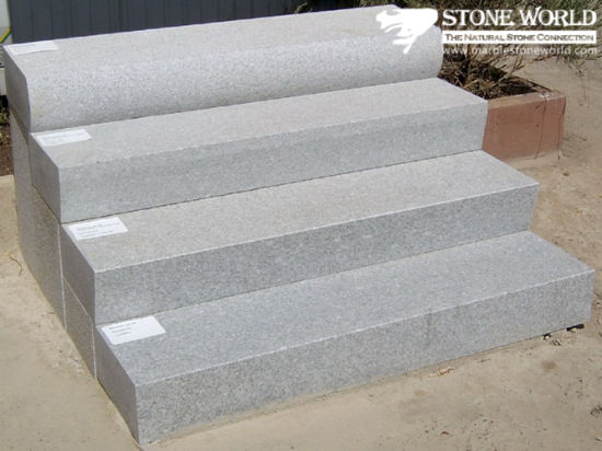 Grey Granite Step Blocks For Indoor/Outdoor (ST016)