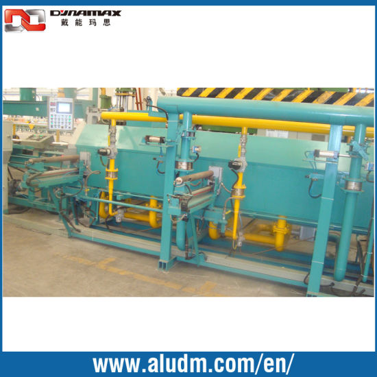 Aluminum Extrusion Machine Accurate Shearing Single Log Heating Furnace in 6meters pictures & photos