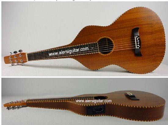 Aiersi Rope Binding Solid Top Electric Hawaiian Guitar pictures & photos