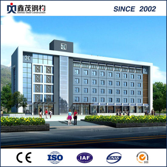 China Prefabricated Office Buidling in Steel Frame with Good-Looking ...