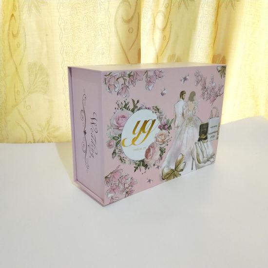 China Custom Paper Packaging Box for Wedding Dress Packaging Box ...