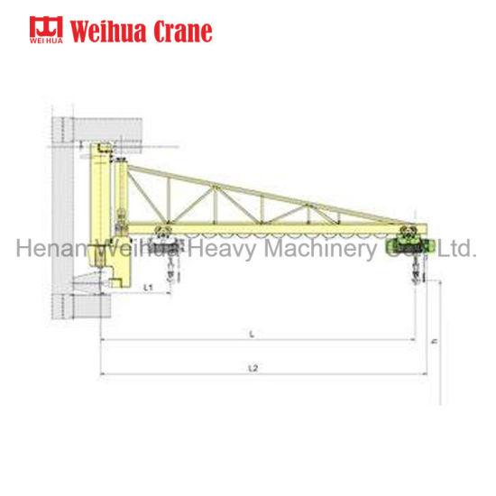 China Wall Rail Jib Crane China Jib Crane Wall Mounted