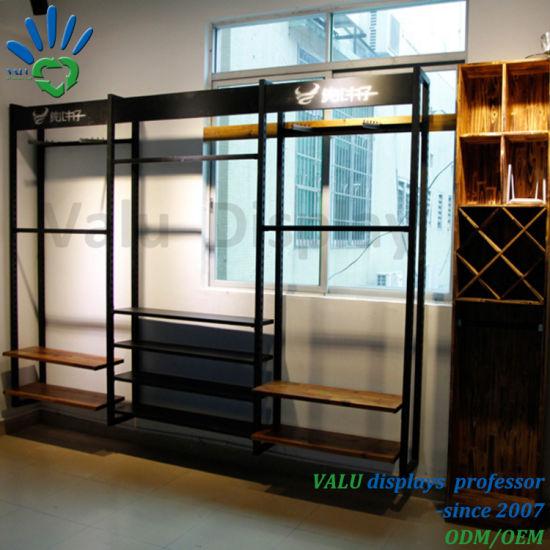 Shop Display Fixtures, Shopfitting, Fashion Clothes Display Shelving