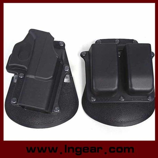 New Tactical Pistol Gun Paddle Holster Double Magazine GL2 For Glock 17 Series