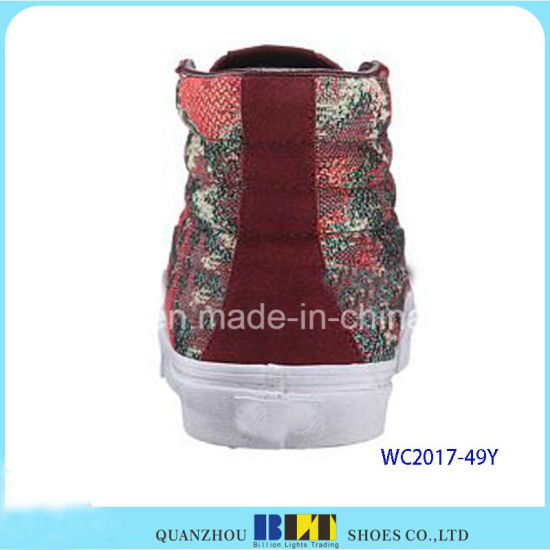 Fashion Women Casual Shoes with Printed pictures & photos