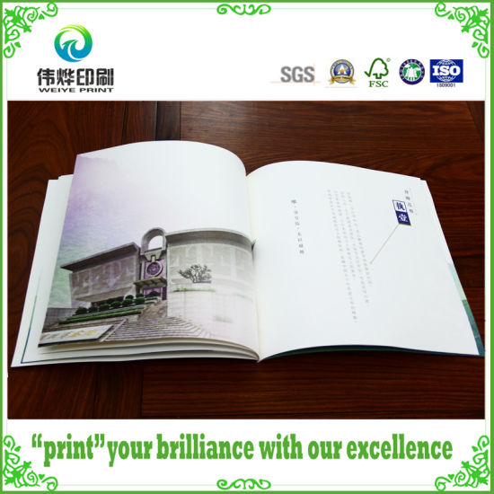 Perfect Binding Soft Cover Brochure Printing for Promotion pictures & photos