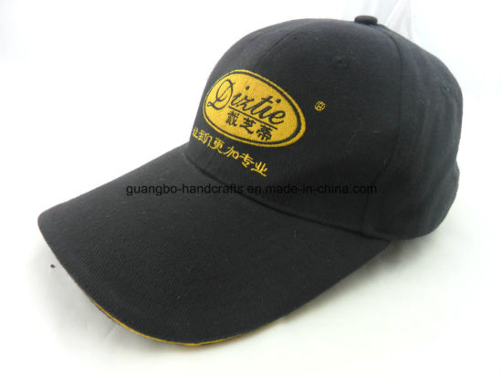 100% Cotton New Design Embroidered Sports Cap pictures & photos