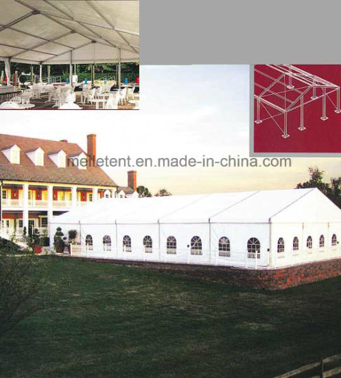 15X25m Aluminum Nigeria Party Wedding Tent White Marquee Tents