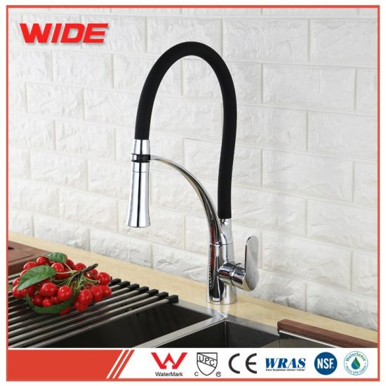 China Movable Brass Pull Down Kitchen Mixer Taps For Sale China