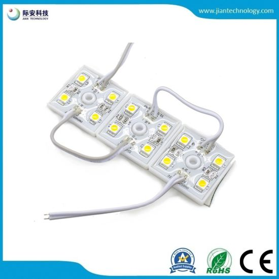 DC 12V 4 LEDs 5050 SMD RGB Waterproof LED Module Light Lamp Free Shipping pictures & photos