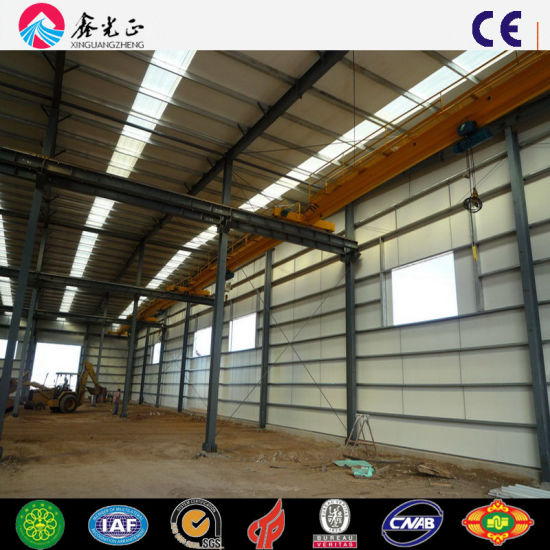 Prefabricated Steel Structure Building Material (Q345B/Q235B)