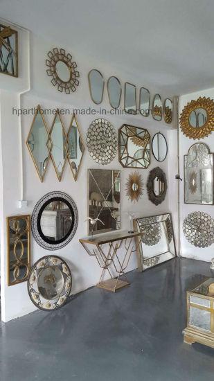 Art Wall Decor Accent Metal Mirror